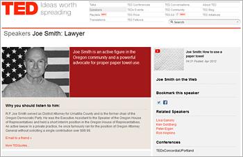 Joe Smith on TED.com