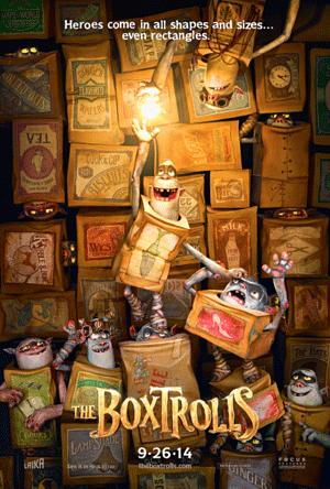 BoxTrolls poster art