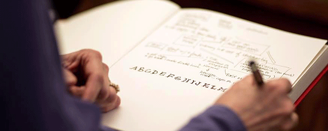 Sketchnote letters