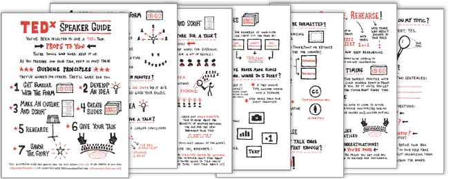 Illustrated Speaker Guide by Doug Neill